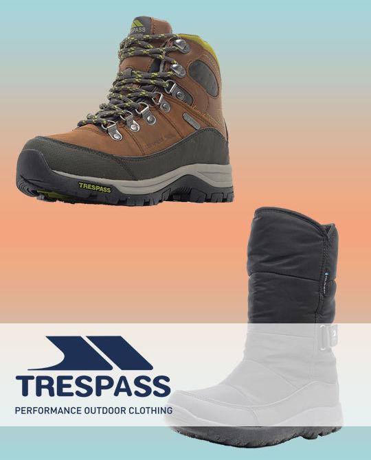 обувь Trespass - Stockhouse - одежда оптом - сток оптом - купить trespass оптом - обувь оптом - обувь сток оптом