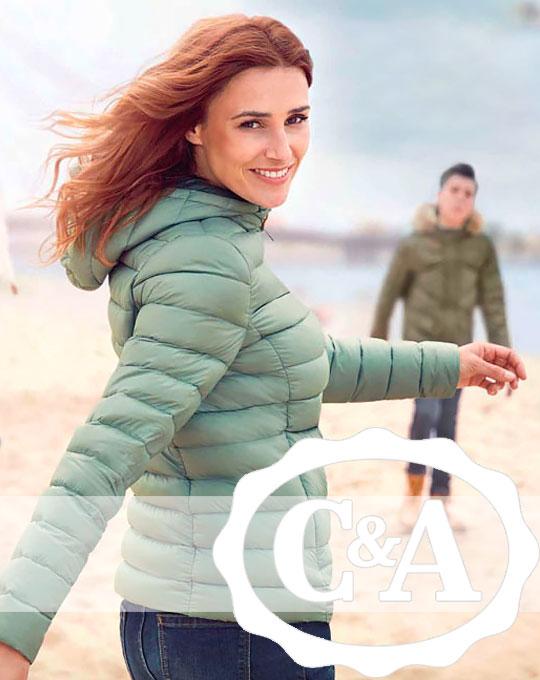 Микс мужской и женской одежды C&A