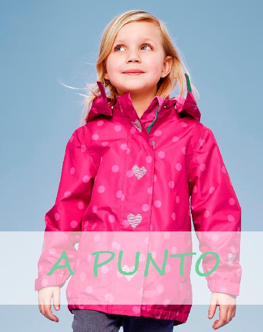 Детские зимние куртки A PUNTO