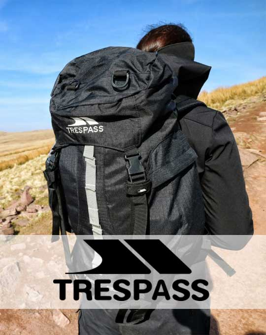 Спортивные рюкзаки  Trespass