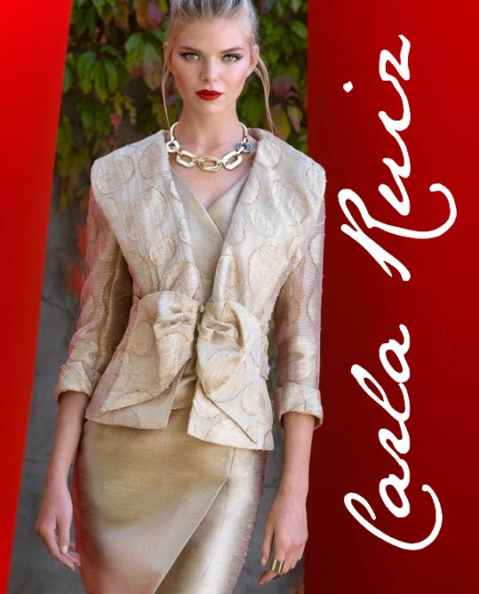 Платья Carla Ruiz - сток оптом - одежда оптом