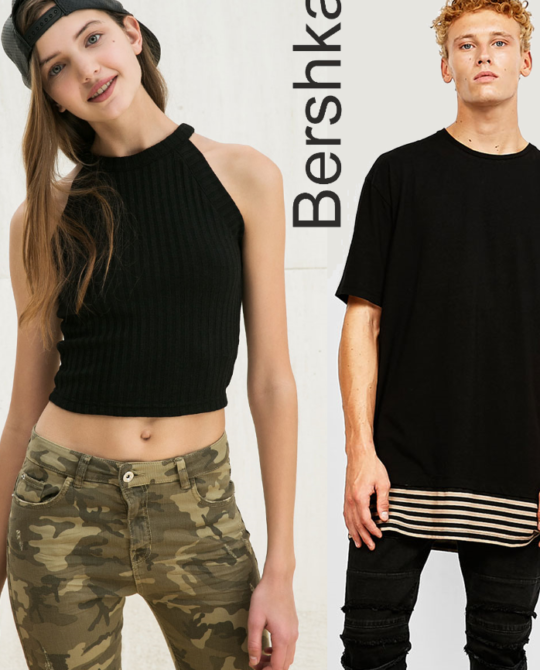 Bershka - сток оптом - одежда оптом