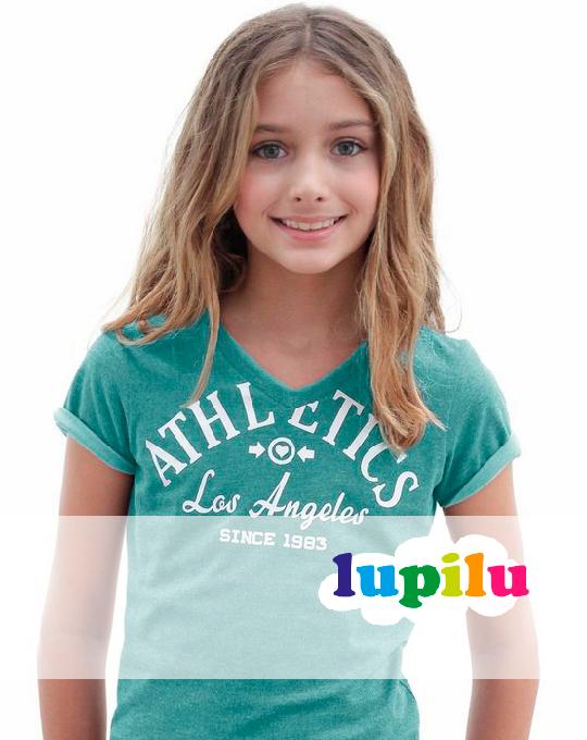 Футболка на девочку  Lupilu