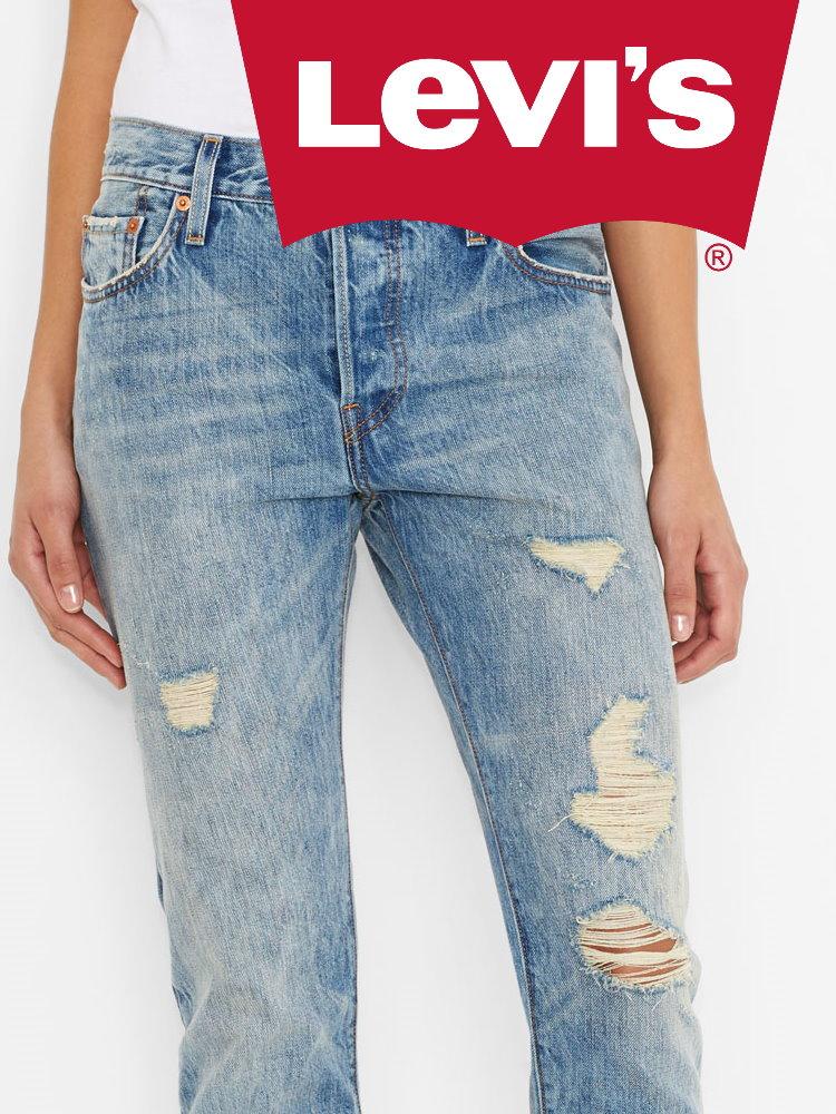 Женские джинсы  Levi's 501