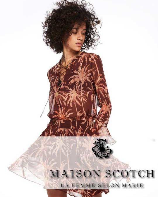 Женский микс Maison Scotch - Stockhouse - одежда оптом - сток оптом