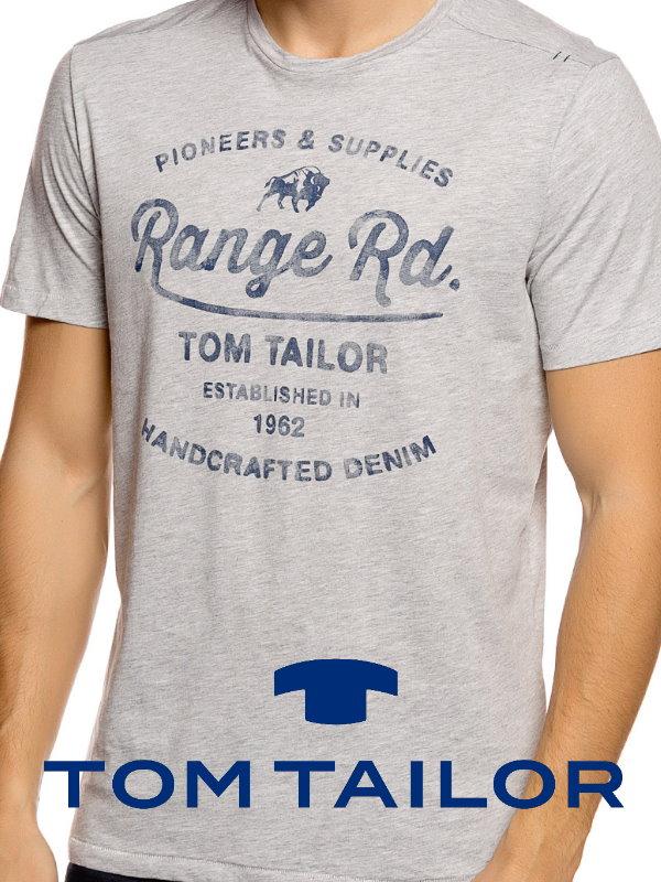 Мужские футболки Tom Tailor
