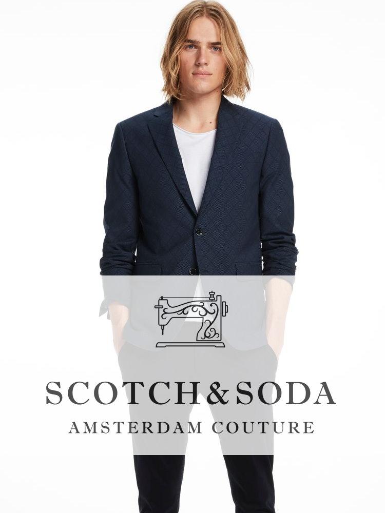 Мужские костюмы  Scotch & Sodа