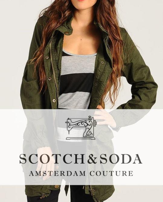 женские куртки Maison Scotch