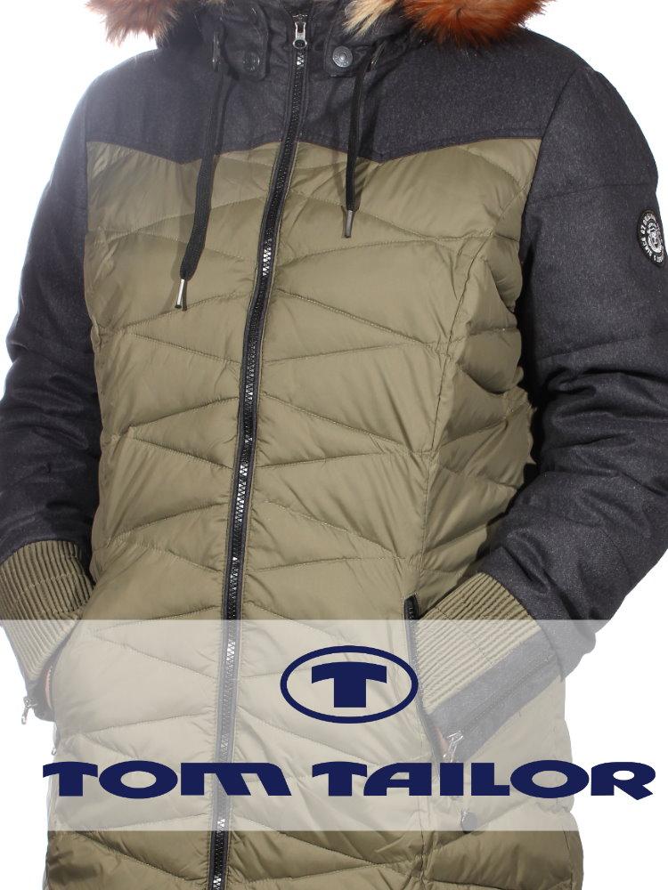 Женские куртки  Tom Tailor