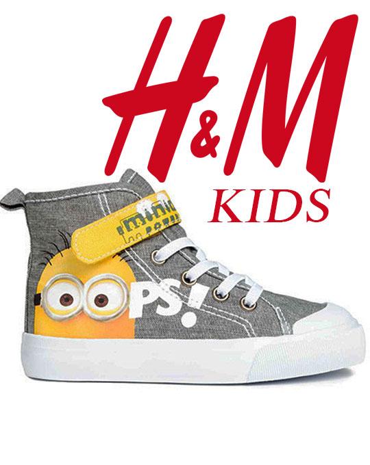 Детская обувь H&M