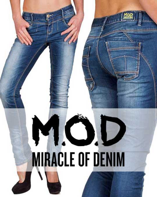 Женские джинсы Miracle of Denim (М.О.D.) - Stock House - сток оптом 58c2618ad946d