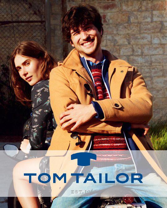 Зимний микс Tom Tailor