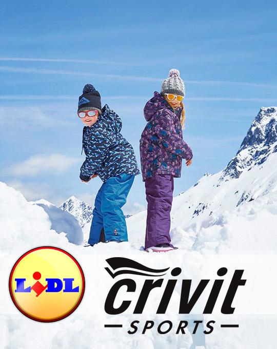Детский микс лыжной одежды Crivit