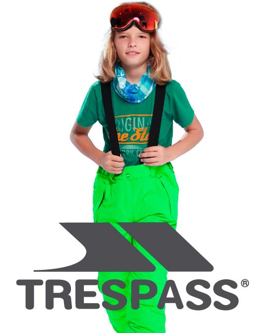 Детские лыжные штаны  Trespass