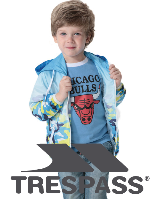 Детские ветровки Trespass