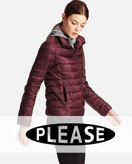 женские пуховики Please - Stockhouse - одежда оптом - сток оптом