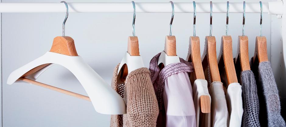 Плечики и вешалки для развески одежды