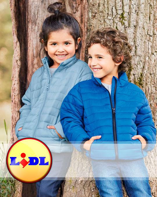 Детская стоковая одежда Детские куртки  Lupilu