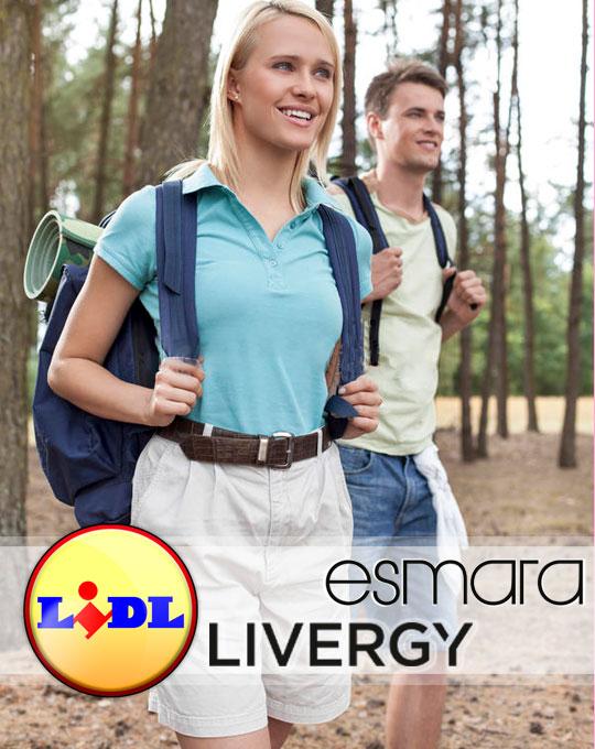 Шорты мужские и женские Livergy+Esmara - Stockhouse - одежда оптом - сток мужской и женский оптом