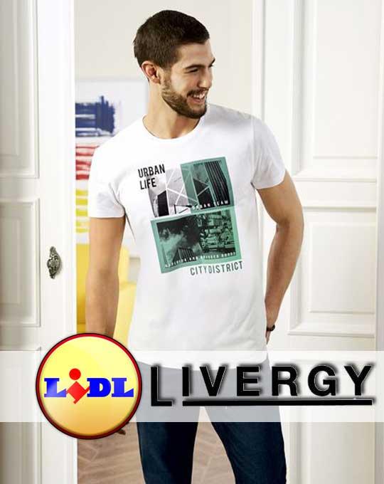 Мужские футболки  Livergy