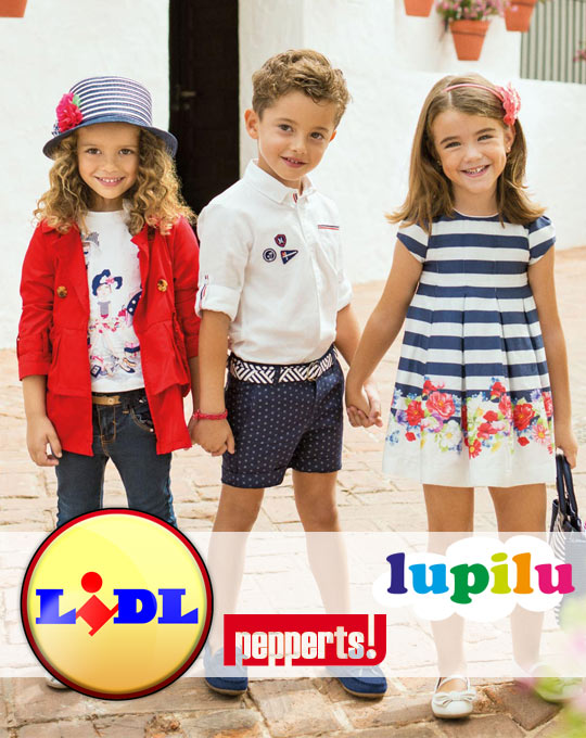 Детский Микс  Lupilu+Pepperts