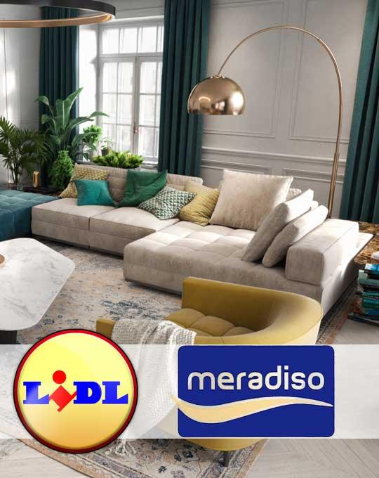 Товары для дома  MERADISO