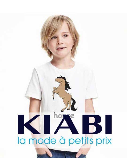Детские футболки KIABI