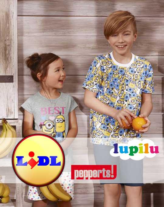 Детские летние комплекты  Lupilu + Pepperts