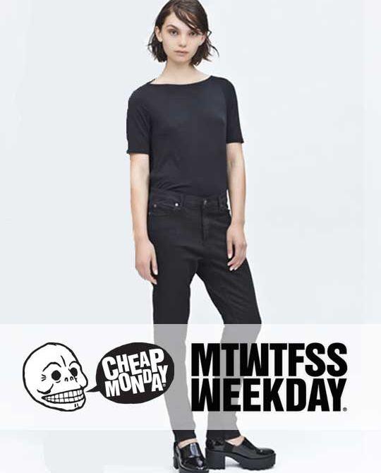 Женские джинсы Cheap Monday+Monki - Stockhouse - одежда оптом - сток оптом