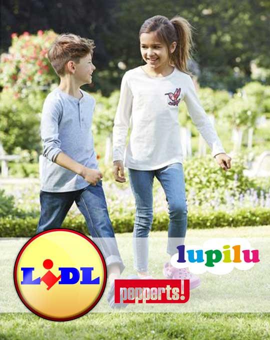 Детская летняя обувь  Lupilu+Pepperts