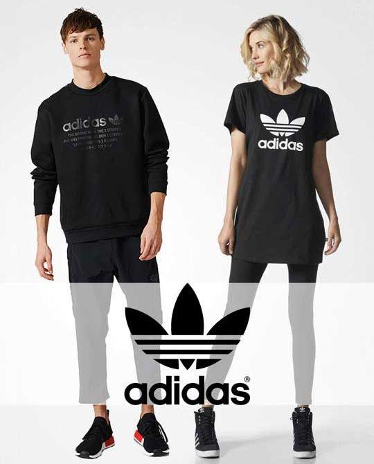 Микс adidas spring-summer 2018 - одежда оптом - сток оптом