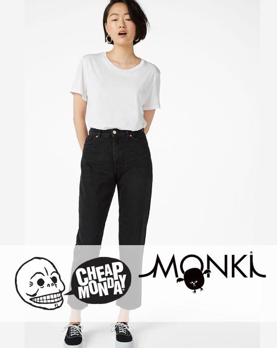 Женские джинсы  Cheap Monday+Monki