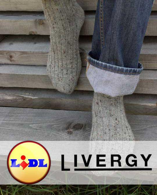 микс носки Livergy Зима - Stockhouse - одежда оптом - сток оптом