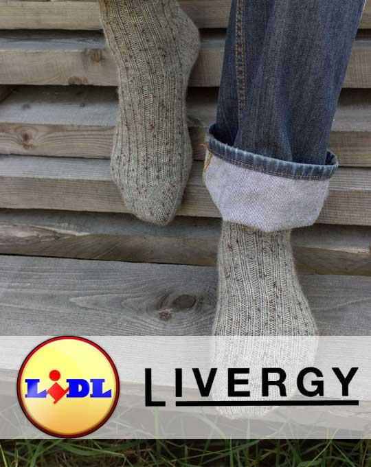 Микс носки  Livergy (Зима)
