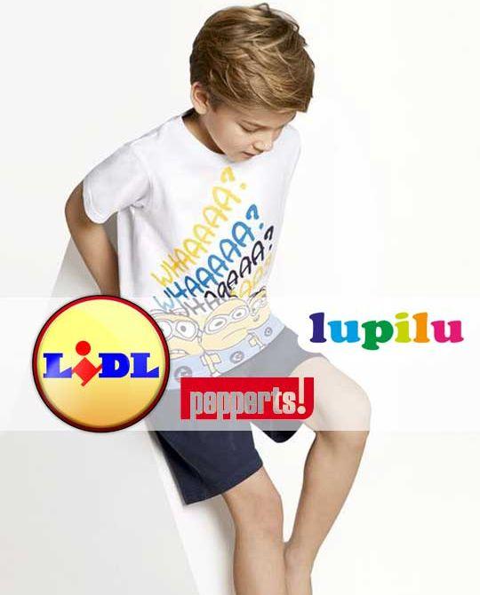 детская пижама Lupilu - Stockhouse - одежда оптом - сток оптом