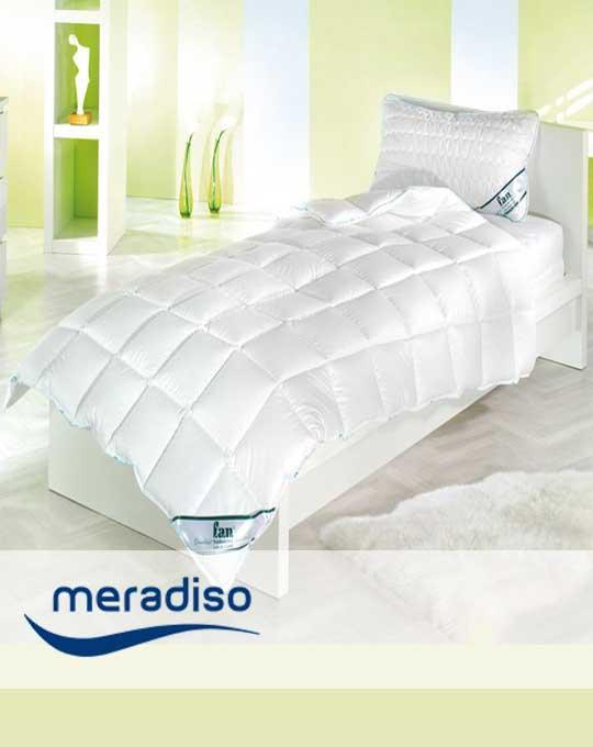 Подушки и одеяла   MERADISO