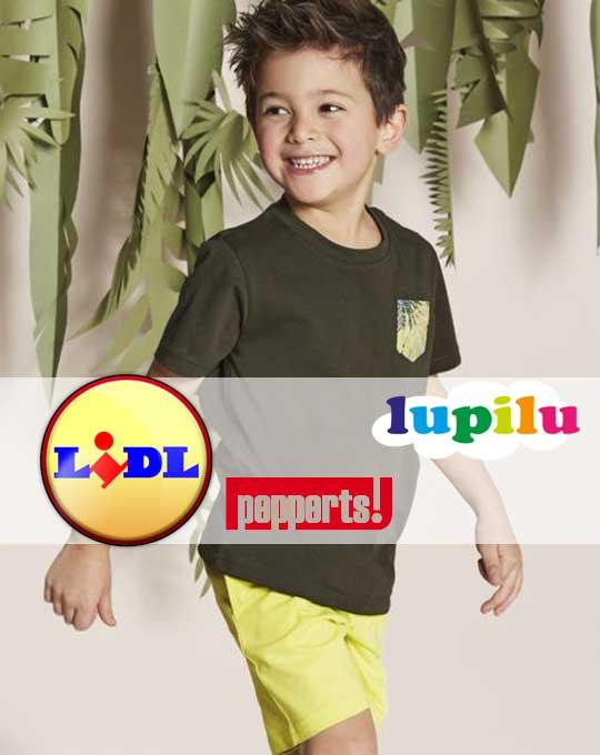 Детские шорты  Lupilu + Pepperts