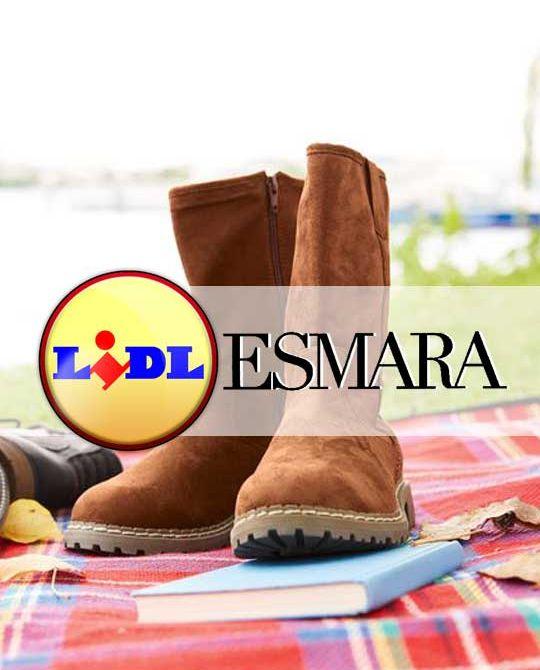 женские замшевые сапоги Esmara - Stockhouse - одежда оптом - сток оптом