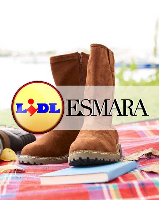 Женские замшевые сапоги  Esmara