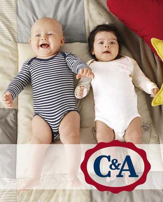 Детские бодики C&A - одежда оптом - сток оптом