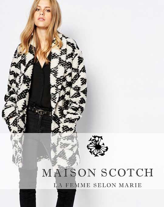 Женский микс  Maison Scotch