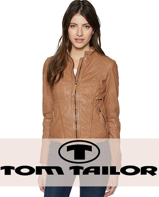 Женская демисезонная куртка Tom Tailor - одежда оптом - сток оптом