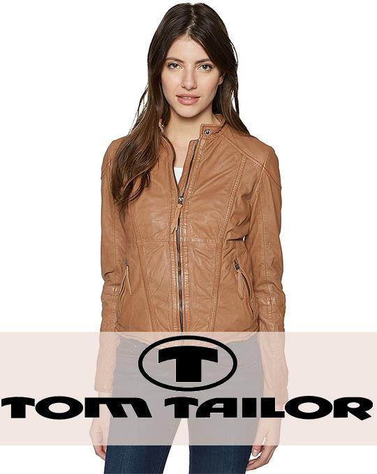 Женская демисезонная куртка Tom Tailor