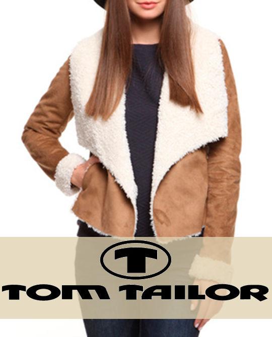 Женская дубленка Tom Tailor - одежда оптом - сток оптом