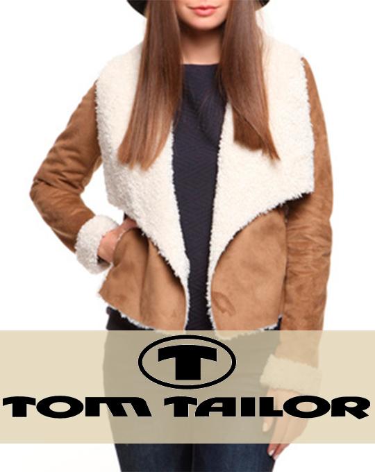 Женская дубленка  Tom Tailor