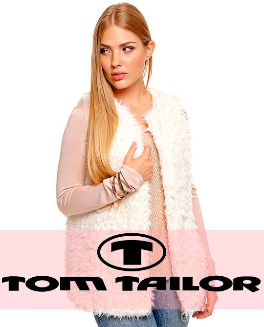 Женский жилет Tom Tailor - одежда оптом - сток оптом