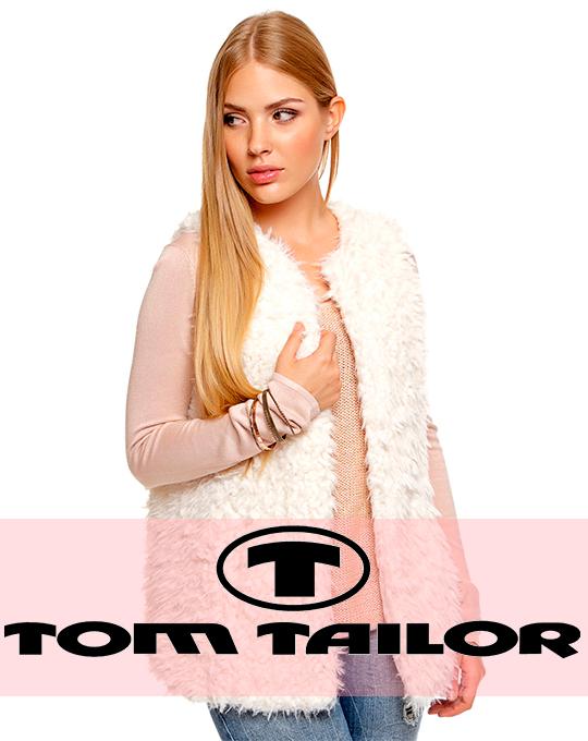 Женский жилет  Tom Tailor