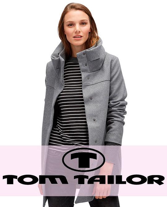 Женское пальто Tom Tailor - одежда оптом - сток оптом
