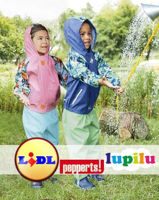 Детская стоковая одежда Детские резиновые штаны  Lupilu+Pepperts