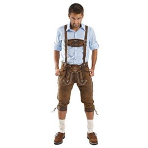 Кожаные шорты на Octoberfest - Stockhouse - одежда оптом - сток оптом